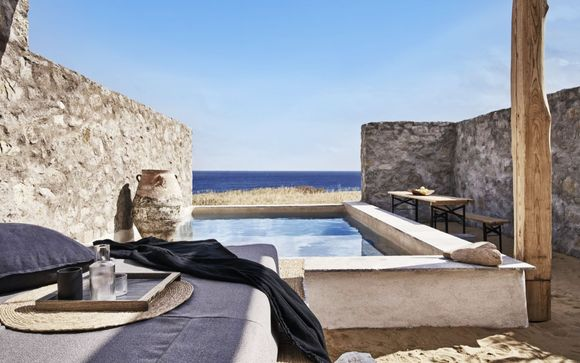 Un paradiso bohémien in Suite con piscina privata