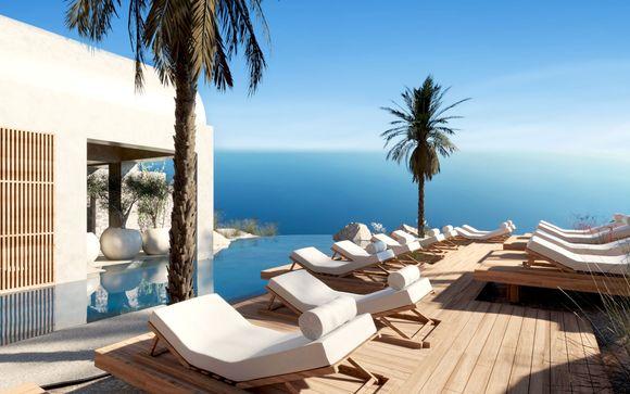 Suite e ville sul mare in wellness resort