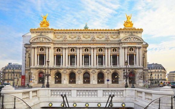Lusso alla francese con vista sull'Opéra Garnier