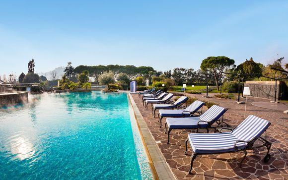 Elegante resort termale 4* tra i Colli Euganei