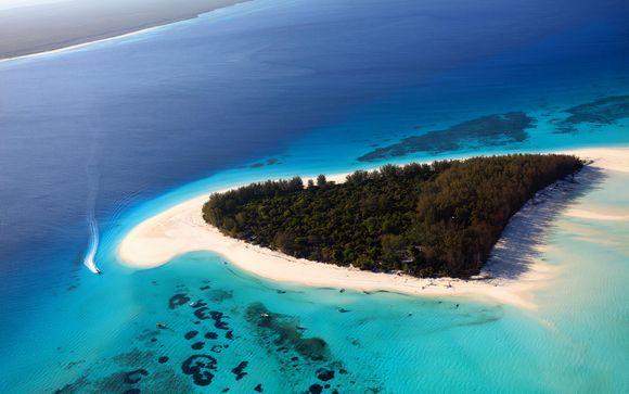 Schnorcheln im Mnemba Korallenriff