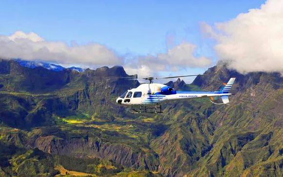 Survol en hélicoptère - L'incontournable (45 minutes)