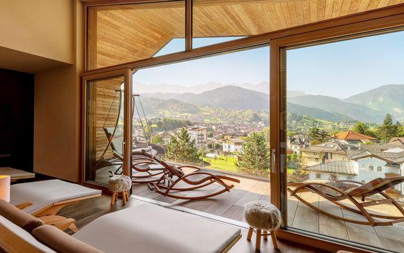 Spa e relax in 4* nella cornice delle Dolomiti
