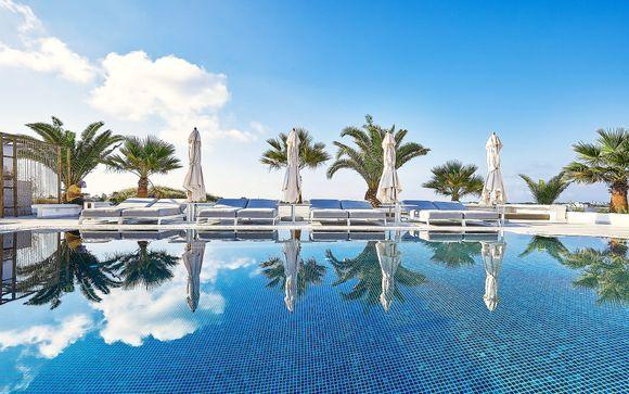 Raffinate Suite con vista mozzafiato sul mar Egeo