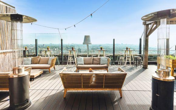 Terrazza con vista panoramica sulla capitale olandese