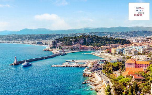 Hotel fronte mare in stile Art Deco sulla Promenade des Anglais