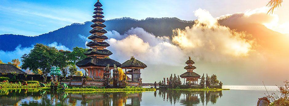 Buchung auf Indonesien