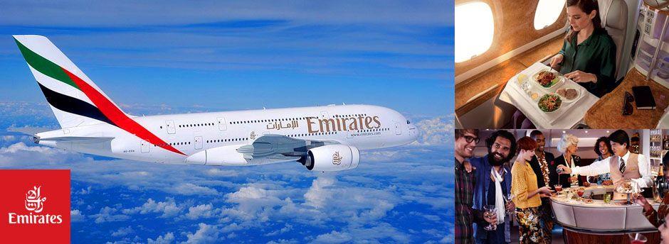 Emirates : [Bons plans] Billets d'avions+Hôtel